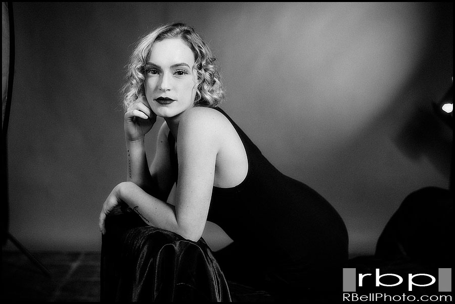 Corona Hair and Makeup Modeling Photography | Classic Hollywood Modeling Photography