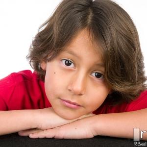 Corona Child Actor Headshot Photography