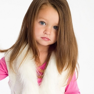 Child Modeling Photography