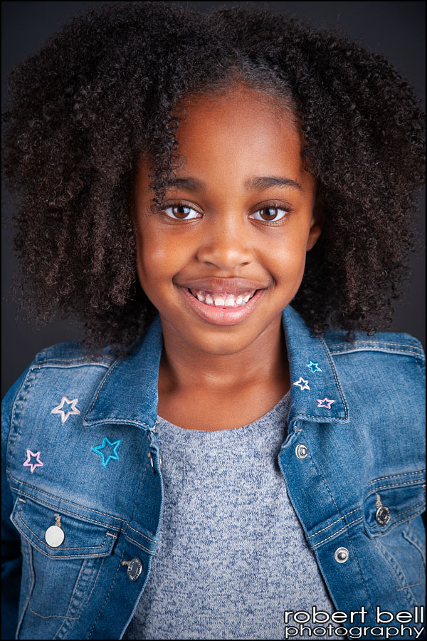 Kemeyah – Child Actor Headshot Photography